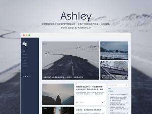 [WP酷专享特惠] Ashley - 三栏自然风极简 WordPress CMS 主题-WP酷
